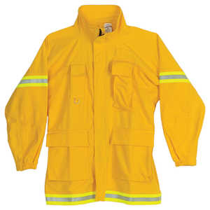 "XX-Large, FireLine 9 oz. Ultra Soft Cotton Firefighting Coat, 50""-52"" Chest"
