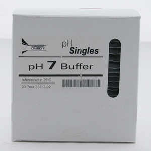 Oakton pH Calibration Singles, pH 7.00, 20 ml Pouches, Box of 20