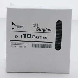 Oakton pH Calibration Singles, pH 10.00, 20 ml Pouches, Box of 20
