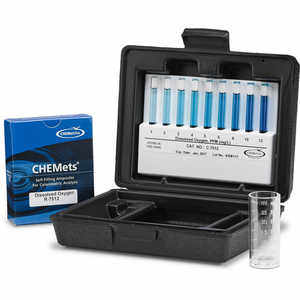 Dissolved Oxygen, CHEMets Water Test Kit, 30 Tests
