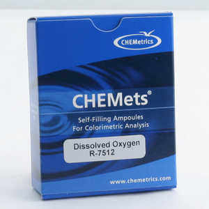 CHEMets Water Test Kit Refill, Dissolved Oxygen, 30 Tests