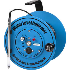 Durham Geo Slope Water-Level Indicator, 100´L Cable, 7˝ dia. Reel