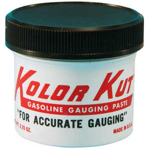 Kolor Kut Gasoline Gauging Paste, 2-1/4 oz. Plastic Jar