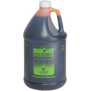 Bright Dyes FLT Yellow/Green Fluorescent Dye, 1 Gallon Liquid