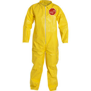 DuPont Tychem 2000 Special Purpose Yellow Coveralls, without Hood, XXXL