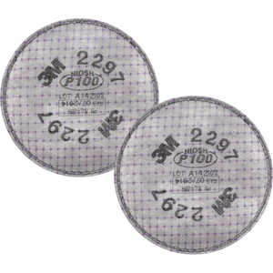 3M Advanced Particulate Filter with Nuisance Level Organic Vapor Relief P100, One Pair