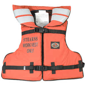 "Stearns Industrial Work Vest, Fits Chest Size 30"" to 52"""