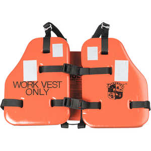 "Stearns ""The Force"" Flotation Work Vest, Fits Chest Size 30"" to 52"""