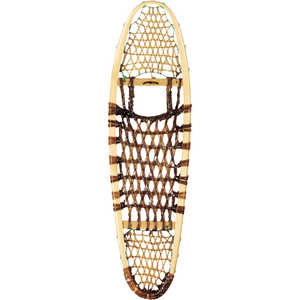 GV Wood Frame Modified Bear Paw Snowshoes, 10 x 36