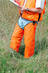 Brush Buster Chaps, Hi-Vis Orange