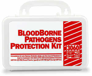 First Aid Only Bloodborne Pathogens Protection Kit