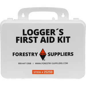 Forestry Suppliers Logger's First Aid Kits, Plastic Case