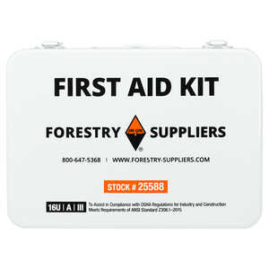 Forestry Suppliers Unitized First Aid Kit, 16-Unit