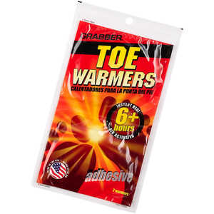 Grabber Toe Warmers, Pair