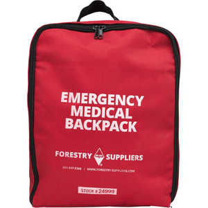 Forestry Suppliers Emergency Medical Backpack