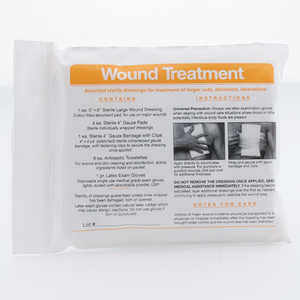 Forestry Suppliers First Aid Refill, Wound Treatment Module