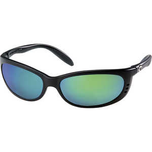 Costa Fathom Sunglasses, 580G LightWAVE Glass Lens, Green Mirror