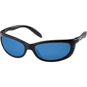Costa Fathom Sunglasses, 400G LightWAVE Glass Lens, Blue Mirror
