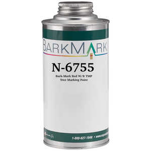 BarkMark Water Clean-Up Tree Marking Paint, Red, Quart