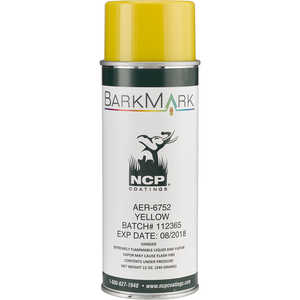 BarkMark Aerosol Tree Marking Paint, Yellow, 12 oz. Can