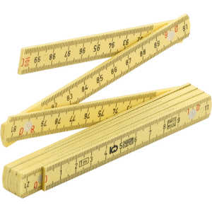 2m Metric/English Ruler, Rhino Rulers Fiberglass Folding Ruler