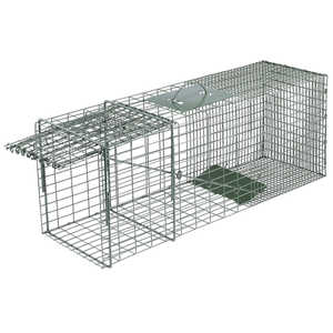 "Model 1110 Duke Single Door Wildlife Cage Trap, 32"" x 10"" x 12"""