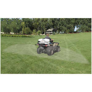 Fimco 25-Gallon Sprayer with Stainless Steel Boomless Wetboom with 3 Nozzles