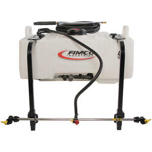 Fimco 45-Gallon UTV Sprayer with Boomless 3-Nozzle Wetboom