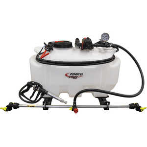 Fimco Pro Series 25-Gallon Spot Sprayer with 3-Nozzle Boomless Wetboom and Quick Release Gun, 4.0 GPM