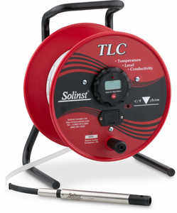 Solinst Model 107 TLC Meters with Laser Marked Tape, 300'