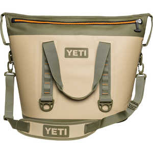 YETI Hopper Two 40 Soft-Side Cooler, 40-Quart Capacity, Field Tan