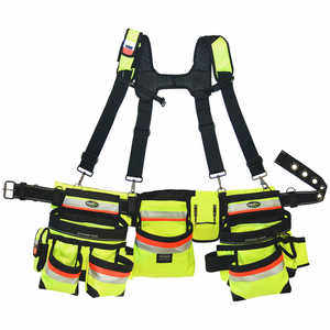 Bucket Boss 3-Bag Hi-Vis Framers Rig