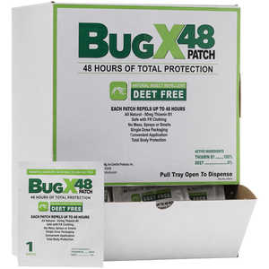 Bug-X 48 Insect Repellent Patch, Box of 50 Patches