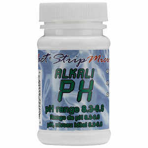 pH (Alkali) Test Strips for eXact iDip Photometer, Bottle of 50