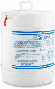 Hi-Combat Class A Fire Fighting Foam, 5 Gallons