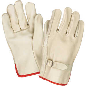 PIP Unlined Leather Driver's Gloves, X-Large