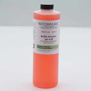 4.01, WaterMark pH Buffer Solution, One Pint