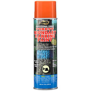 Aervoe Professional Choice Aerosol Boundary Marking Paint, Orange