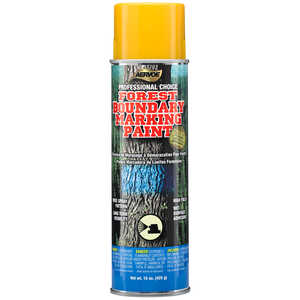 Aervoe Professional Choice Aerosol Boundary Marking Paint, Yellow