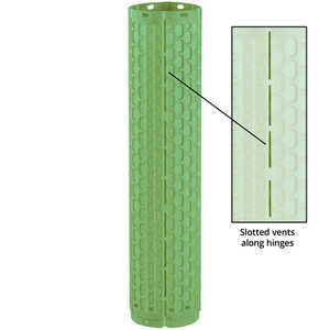 ShellT Grow Tube, Ventilated, Green