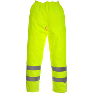 Viking Open Road Hi-Viz Yellow Rain Pants, Class 3, XX-Large