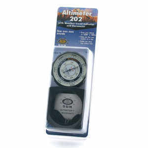 Sun Pocket Altimeter/Barometer, Metric
