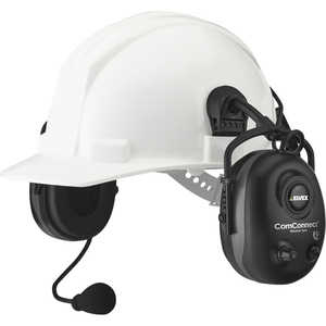 Elvex ComConnect Bluetooth Electronic Earmuffs Cap Mount Style