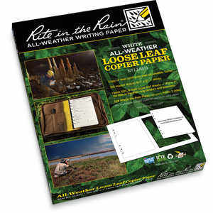 Rite in the Rain Loose Leaf Copier Paper, Bulk of 150 Master Sheets