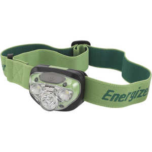 Energizer Vision HD+ LED Headlight, Black/Green