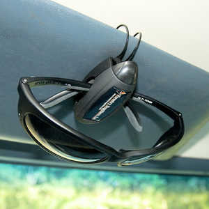 Forestry Suppliers' Vehicle Visor Glasses Clip