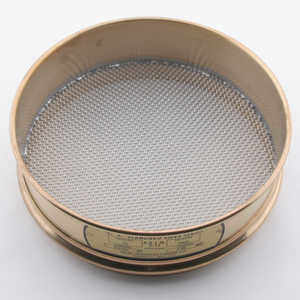"No. 10; 2.00 mm/0.0787"" Dual Manufacturing Standard Testing Sieve"