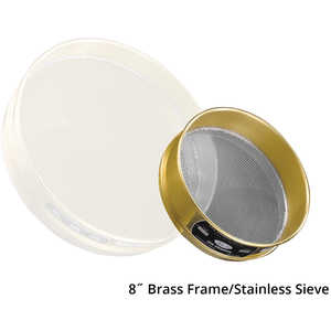 "Advantech Manufacturing 8"" Brass Frame Testing Sieves