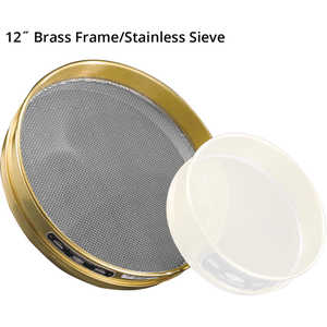"Advantech Manufacturing 12"" Brass Frame Testing Sieves