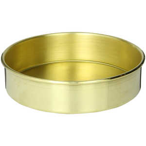 "Advantech Manufacturing 8"" dia. Full-Height Brass Pan"